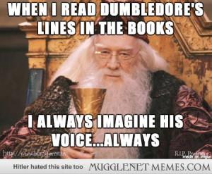 To me, Richard Harris will always be my Dumbledore