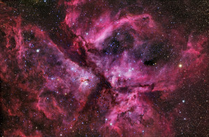 Great Carina Nebula Is A Star-Building Busy Bee.