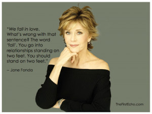 Wise Words from Jane Fonda
