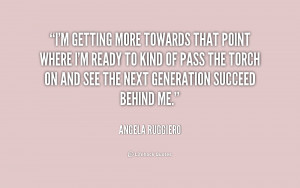 Angela Ruggiero Quotes