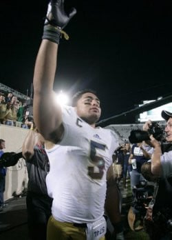 The legend of Te'o's girlfriend captivated the sporting world after ...