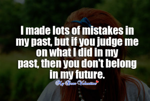 My Past Quotes