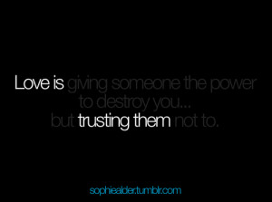 Relationship Trust Quotes Tumblr