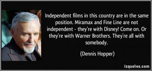 More Dennis Hopper Quotes