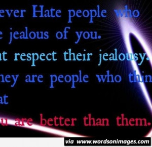 Jealousy quotes quotes for one and all hate and jealousy x