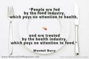 Pretty much. Love Wendell Berry.