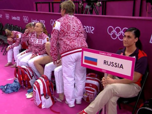 images of Images The Women Win Gold Team Gymnastics After Russians