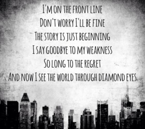 Diamond eyes ~ Shinedown