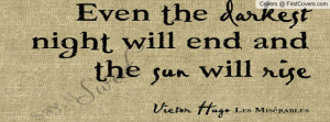 Victor hugo quote Profile Facebook Covers