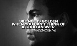 Muhammad Ali sayings