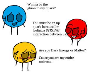 Particle Pickup Lines by KidsAndKittehs