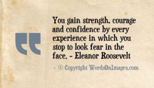 Daily Inspirational Quote You Gain Strength Quotes