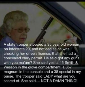 Don't piss off Great Grandma!