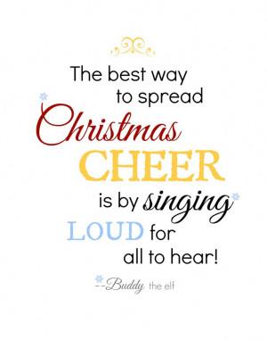 christmas quotes elf quotesgram