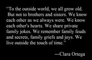 ... words #claraortega #siblings #Brothers #sisters #special #bond #family