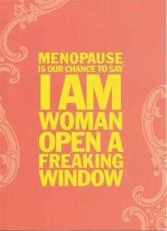 Menopause quotes
