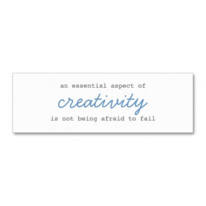 creativity mini cards script business cards. This great business card ...