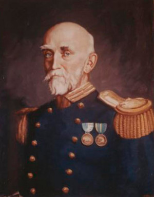 Alfred Thayer Mahan, noted author of The Influence of Sea Power Upon ...