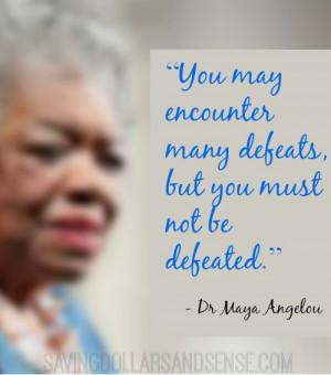 Maya Angelou Inspirational Quotes