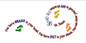 Back > Quotes For > Dr. Seuss Quotes You Have Brains In Your Head