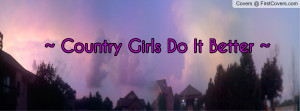 country girls do it better cover