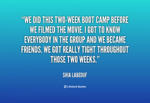 Boot Camp Quotes