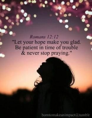 Hope, Faith, Belief & Prayer