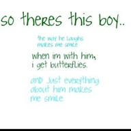 so theres this boy...