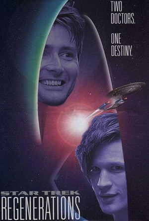 Doctor Who Poster Mash-Up