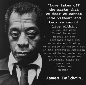 James Baldwin on love and masks