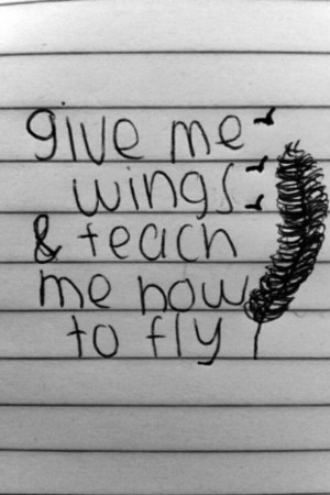 boy, fly, girl, love, notebook, quotes, teach, wings