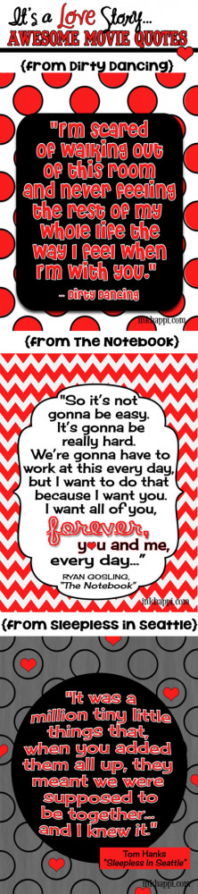 Movie-Love-quotes & free printables at inkhappi.com