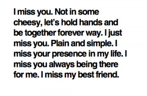 miss my friends. : Best love Quote