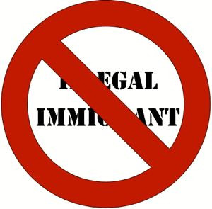 no illegal immigrants