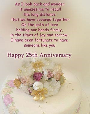 Happy 25th Wedding Anniversary Quotes