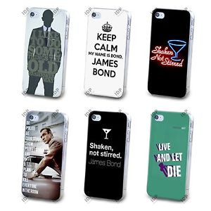 NEW-JAMES-BOND-007-MOVIE-QUOTE-FAMOUS-HARD-CASE-COVER-FOR-APPLE-IPHONE ...