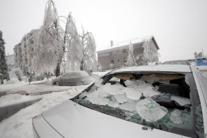 Amazing Pictures: 3 Blizzards And Giant Ice Storm Devastate Slovenia