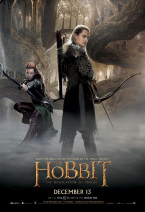 Tauriel Refuses To Get Into Butt Pose In Hobbit Poster, Makes Legolas ...