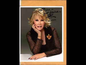 Joan Rivers turns 77 today, so she's certainly been around the block a ...