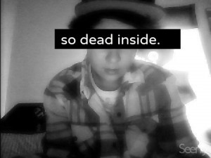Most popular tags for this image include: tumblr boy and dead inside