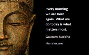 buddha quotes on morning life work