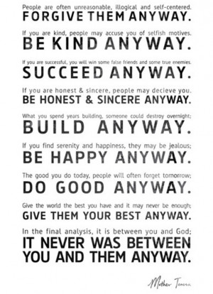 Be Your Best Anyway