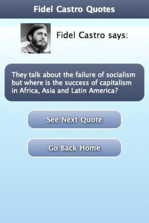 Fidel Castro Quotes Comment: