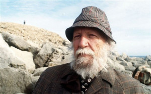 William Golding in a picture from 1980, when the author was 68. He ...