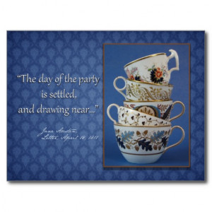 Makayla Adorable Faerie Tea Party Fantasy Postcard