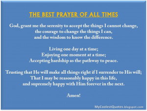 the best prayer of all times best prayer quotes on
