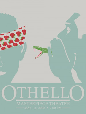 Othello - October 14/15 William Shakespeare, Othello Posters, October ...
