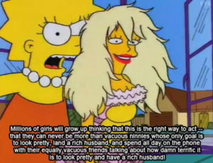 love Lisa Simpson.