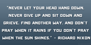 Giving Head Quotes Richard m nixon quote 28