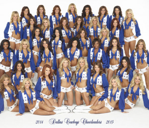 dallas cowboys cheerleaders 2014 2015 squad